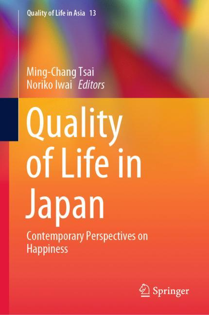 Cover of 'Quality of Life in Japan'