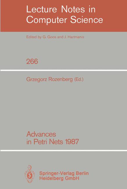 Cover of 'Advances in Petri Nets 1987'
