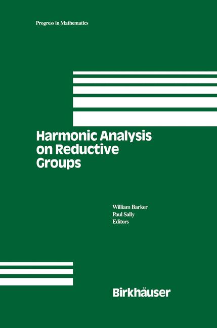 Cover of 'Harmonic Analysis on Reductive Groups'