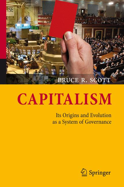Cover of 'Capitalism : its origins and evolution as a system of governance'