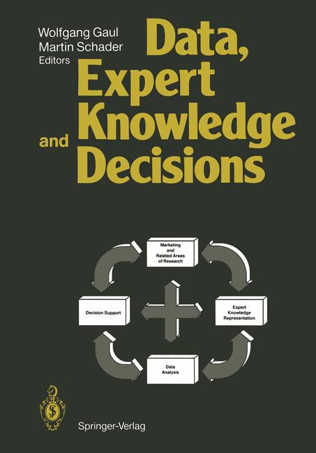 Cover of 'Data, Expert Knowledge and Decisions'