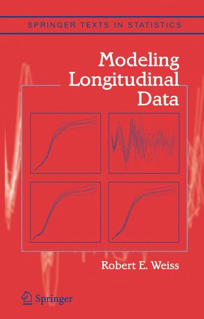 Cover of 'Modeling Longitudinal Data'