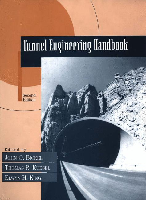 Cover of 'Tunnel Engineering Handbook'