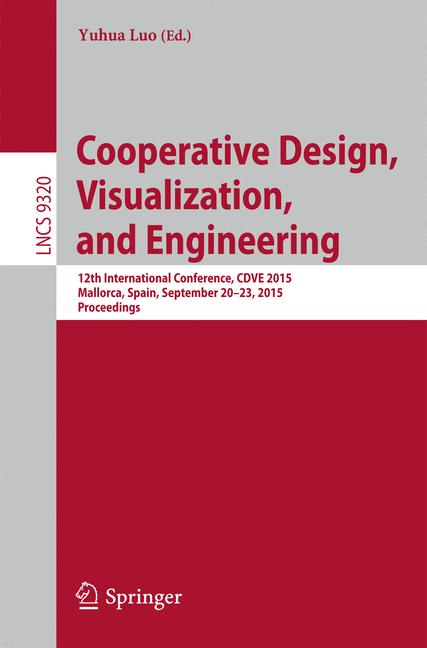Cover of 'Cooperative Design, Visualization, and Engineering'