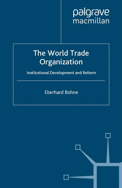 Cover of 'The World Trade Organization'