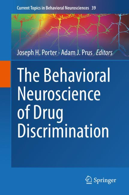 Cover of 'The Behavioral Neuroscience of Drug Discrimination'