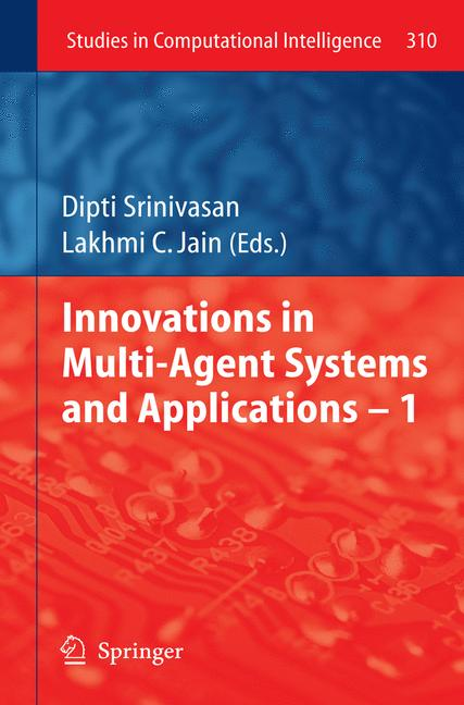 Cover of 'Innovations in Multi-Agent Systems and Application – 1'