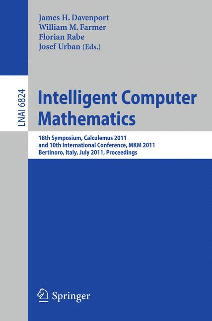Cover of 'Intelligent Computer Mathematics'