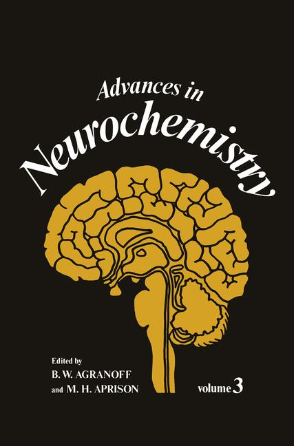 Cover of 'Advances in Neurochemistry'