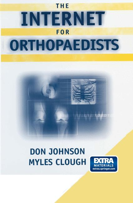 Cover of 'The Internet for Orthopaedists'