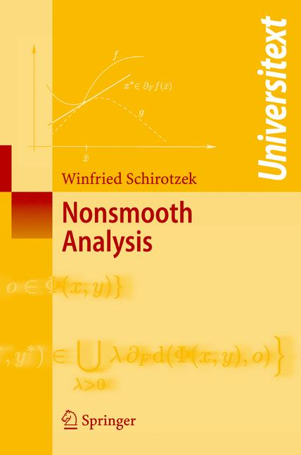 Cover of 'Nonsmooth Analysis'