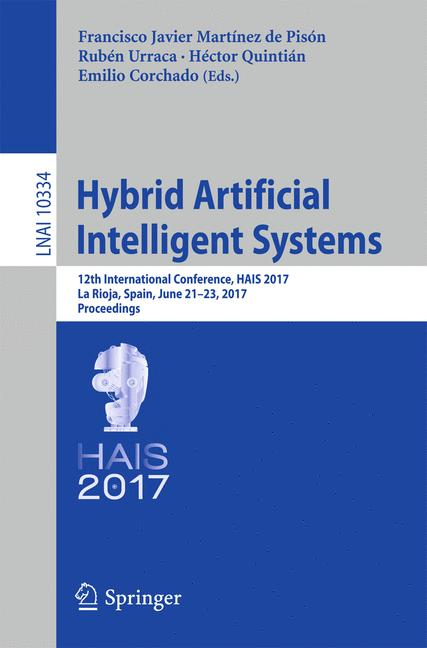 Cover of 'Hybrid Artificial Intelligent Systems'