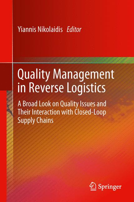 Cover of 'Quality Management in Reverse Logistics'