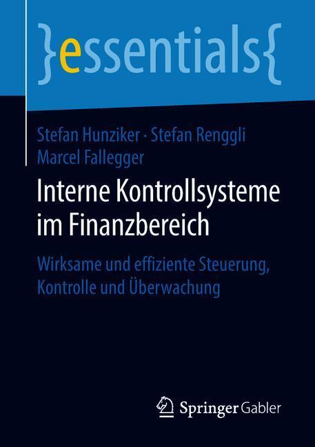 Cover of 'Interne Kontrollsysteme im Finanzbereich'