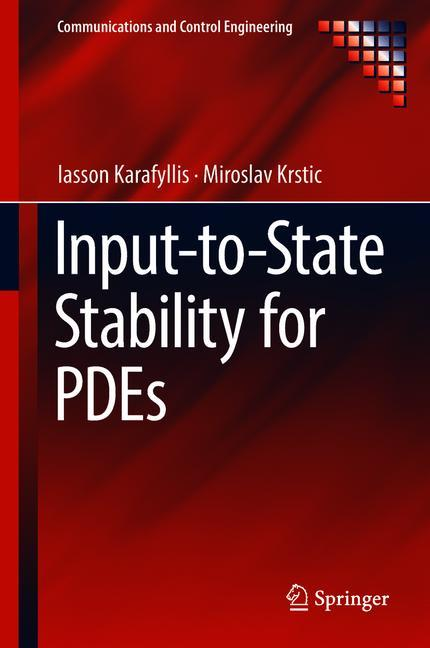 Cover of 'Input-to-State Stability for PDEs'