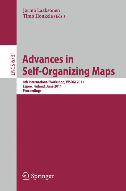 Cover of 'Advances in Self-Organizing Maps'