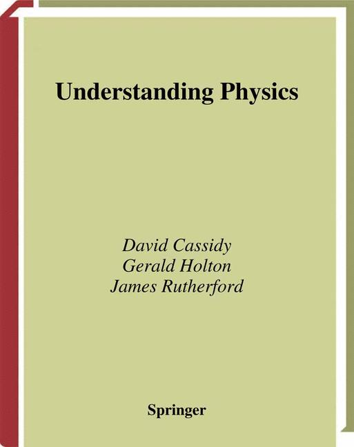 Cover of 'Understanding physics'