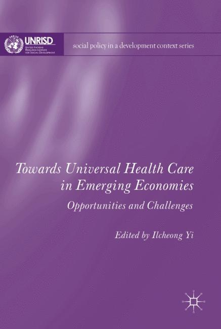 Cover of 'Towards Universal Health Care in Emerging Economies'