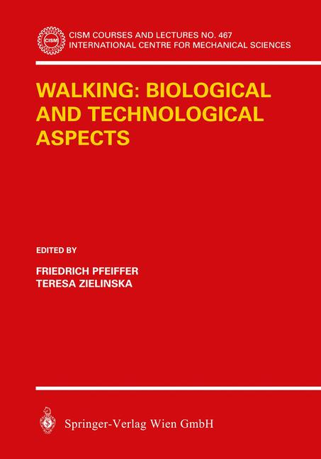 Cover of 'Walking: Biological and Technological Aspects'