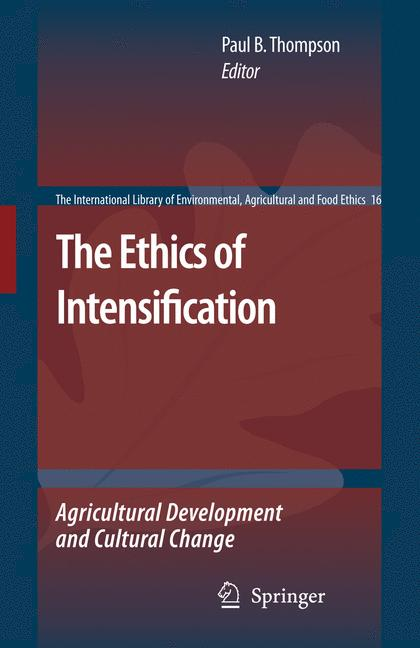 Cover of 'The Ethics of Intensification'