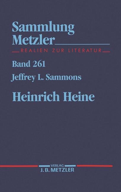 Cover of 'Heinrich Heine'