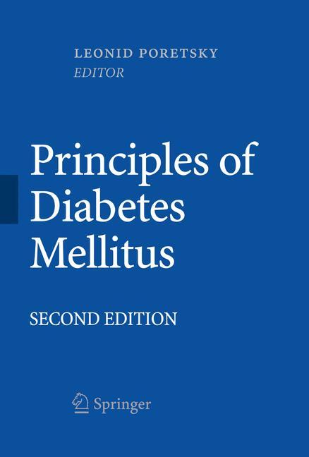Cover of 'Principles of Diabetes Mellitus'