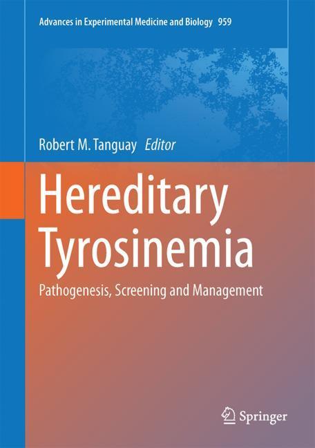 Cover of 'Hereditary Tyrosinemia'