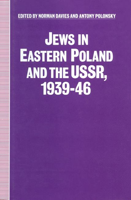 Cover of 'Jews in Eastern Poland and the USSR, 1939–46'