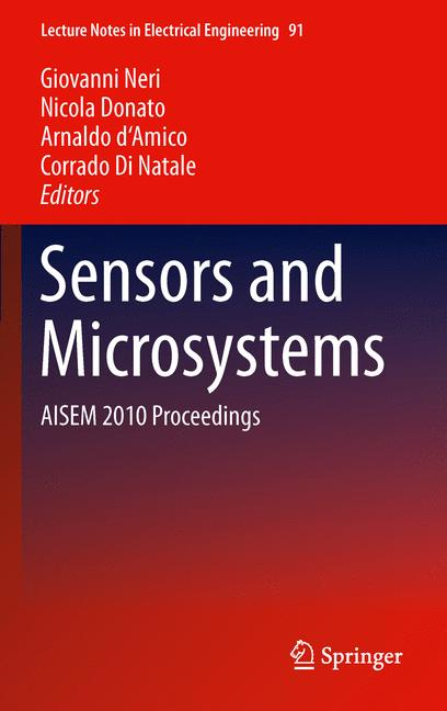 Cover of 'Sensors and Microsystems'