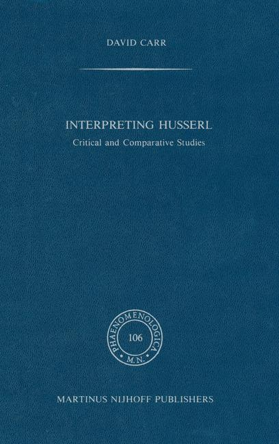 Cover of 'Interpreting Husserl'