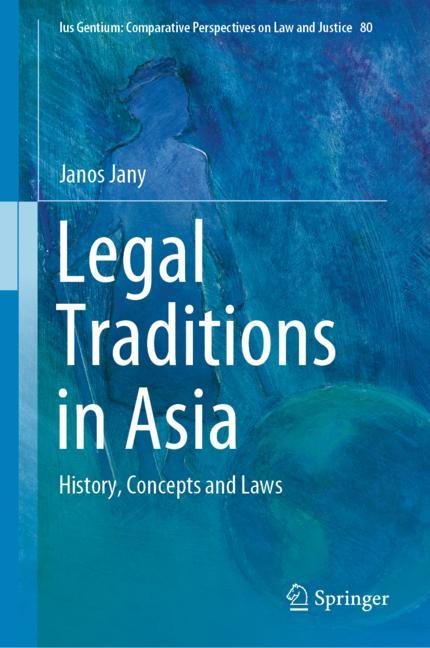 Cover of 'Legal Traditions in Asia'