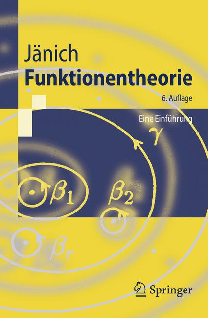 Cover of 'Funktionentheorie'