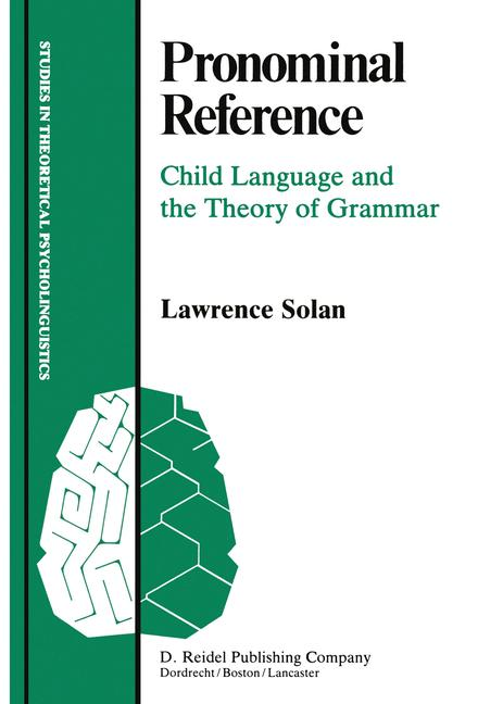 Cover of 'Pronominal Reference'