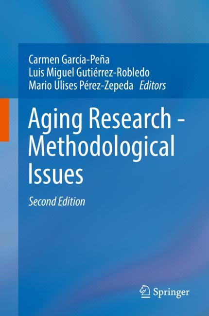 Cover of 'Aging Research - Methodological Issues'
