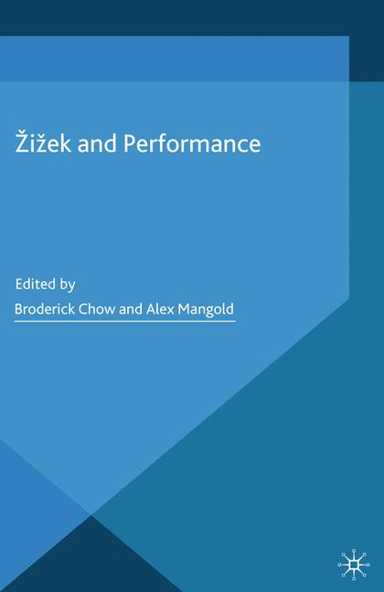 Cover of 'Žižek and Performance'