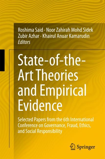 Cover of 'State-of-the-Art Theories and Empirical Evidence'