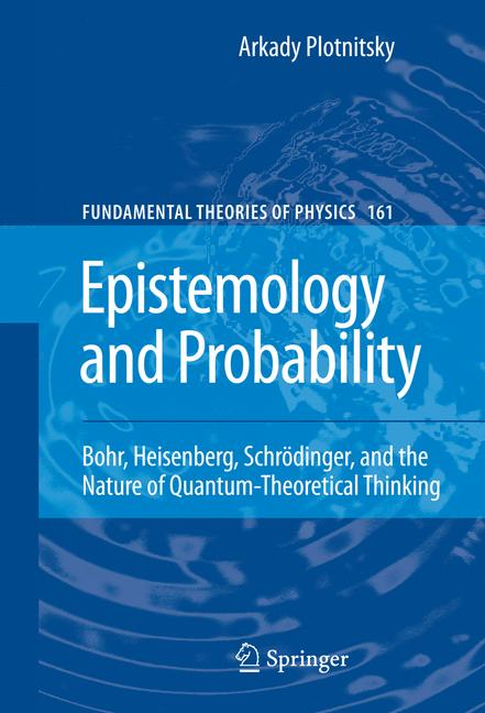 Cover of 'Epistemology and Probability'