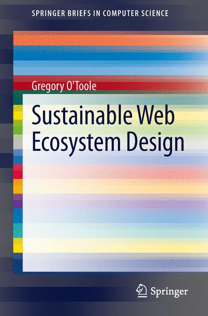 Cover of 'Sustainable Web Ecosystem Design'