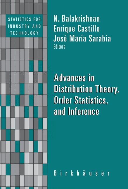 Cover of 'Advances in Distribution Theory, Order Statistics, and Inference'