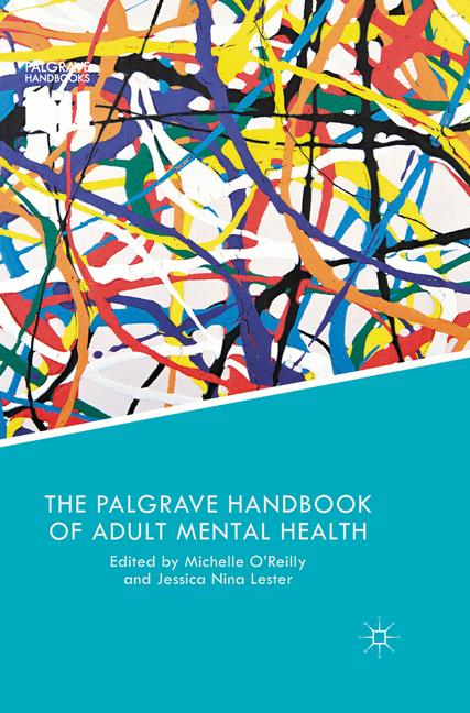 Cover of 'The Palgrave Handbook of Adult Mental Health'