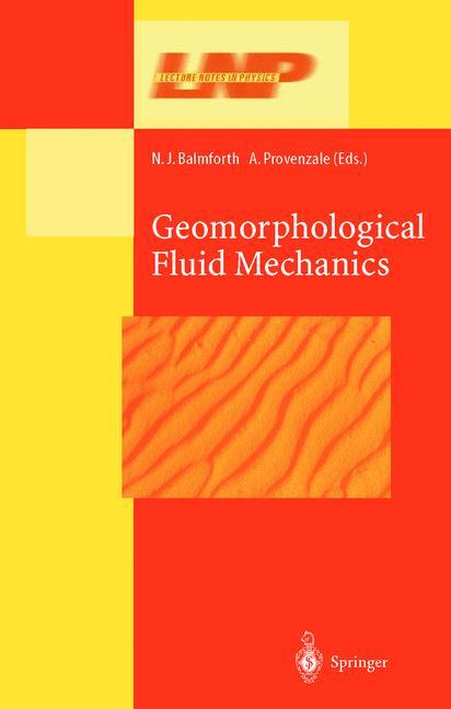 Cover of 'Geomorphological Fluid Mechanics'