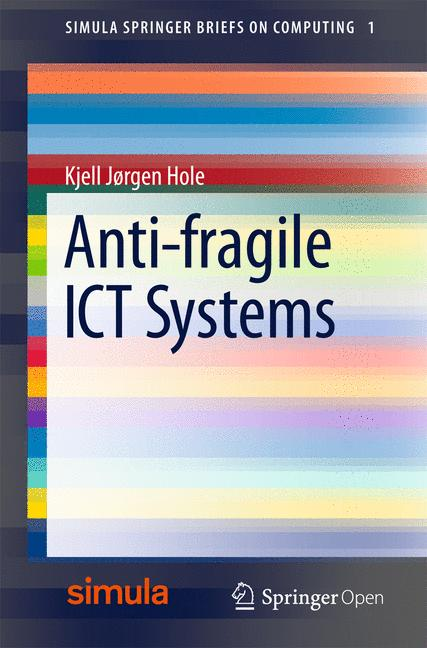 Cover of 'Anti-fragile ICT Systems'