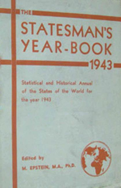 Cover of 'The Statesman's Year-Book'