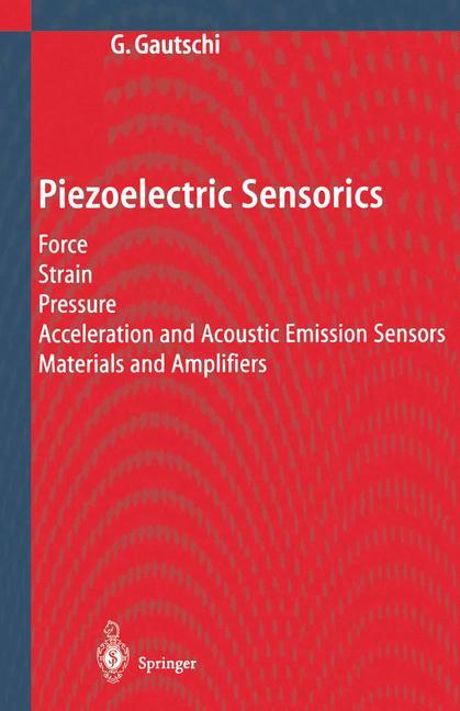 Cover of 'Piezoelectric Sensorics'