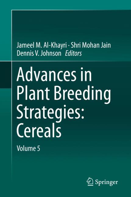 Cover of 'Advances in Plant Breeding Strategies: Cereals'