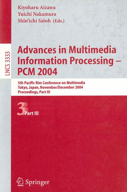 Cover of 'Advances in Multimedia Information Processing - PCM 2004'