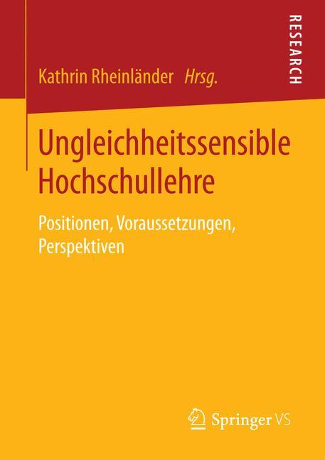 Cover of 'Ungleichheitssensible Hochschullehre'