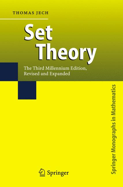 Cover of 'Set Theory'