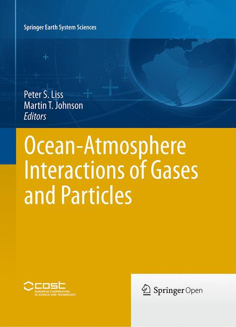 Cover of 'Ocean-Atmosphere Interactions of Gases and Particles'