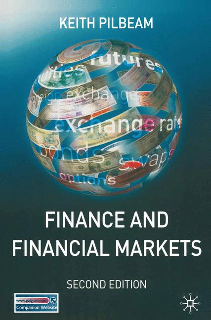 Cover of 'Finance and financial markets'